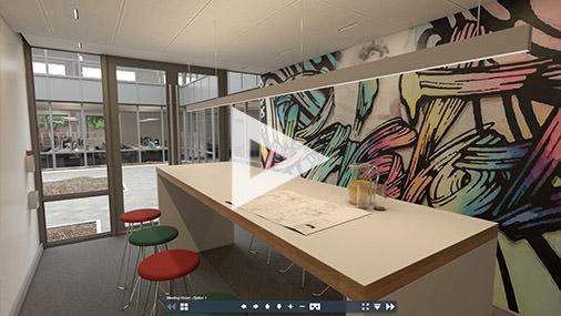 Meeting room options 360VR