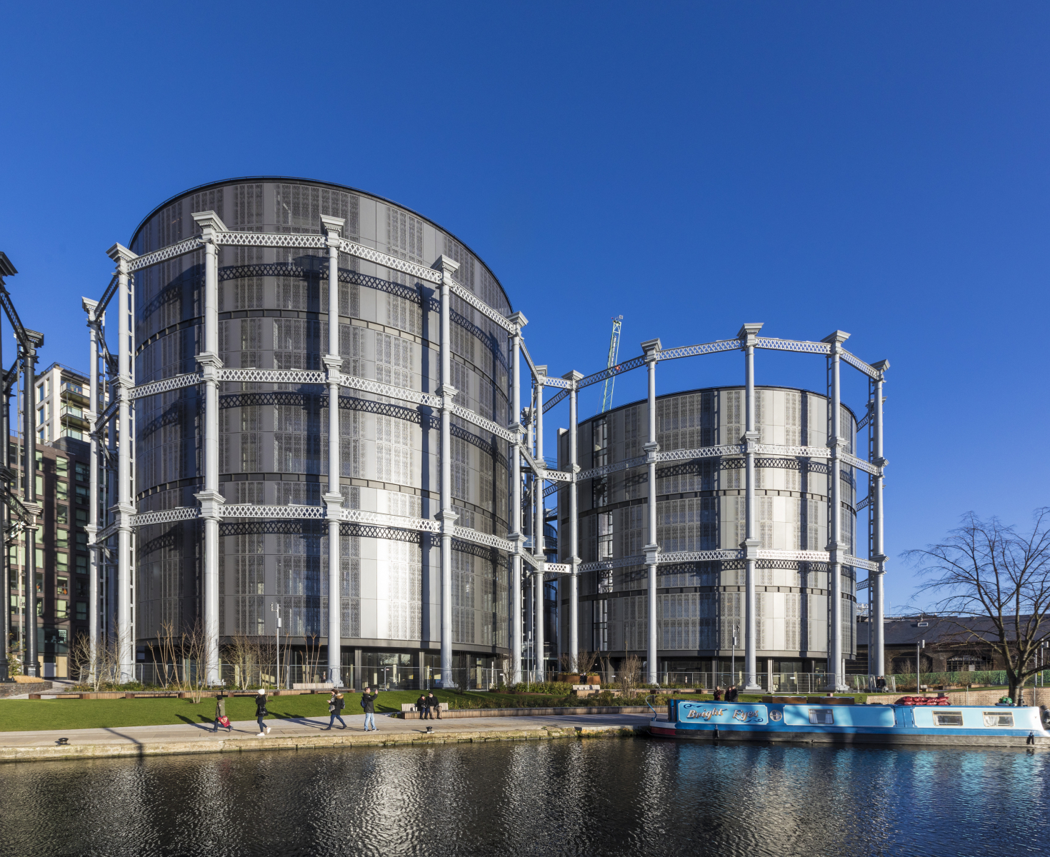 Gas Holder Triplets