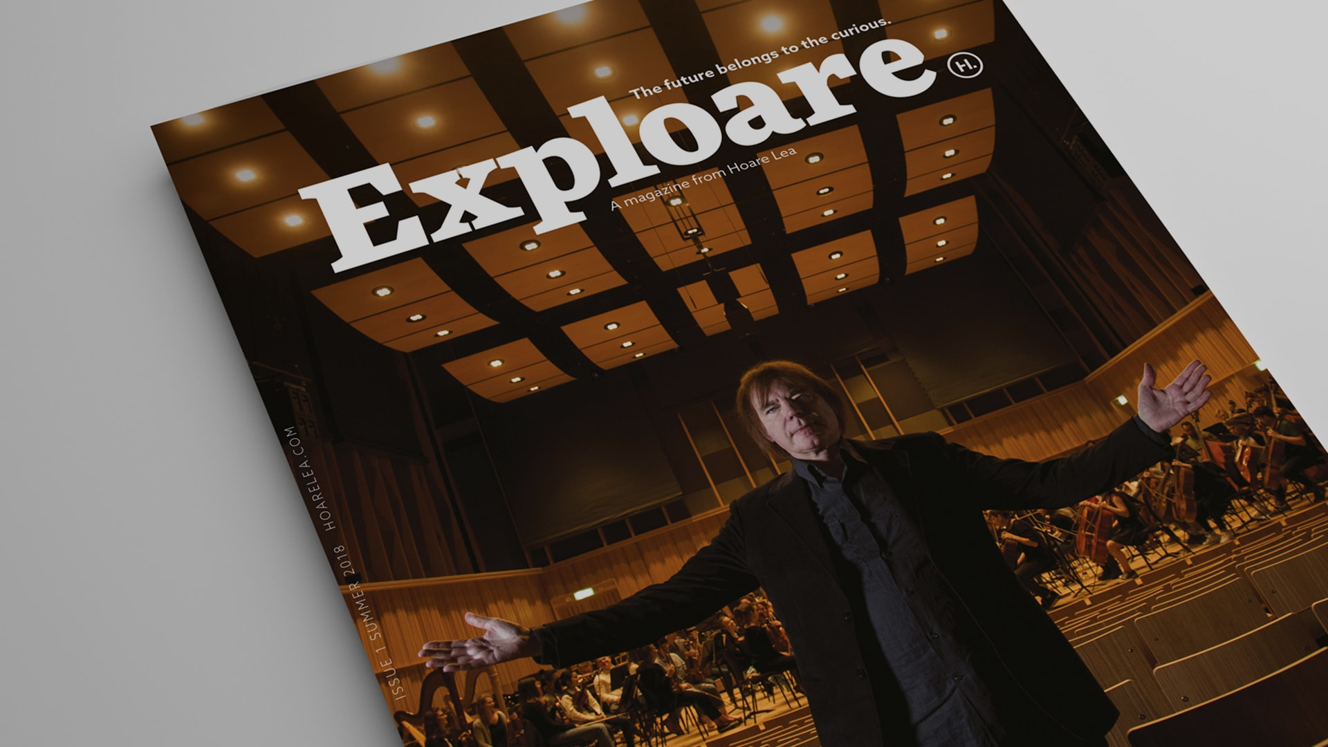 Exploare, our new client magazine